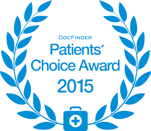 Doc Finder Patients Choice Award 2015