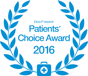Doc Finder Patients Coice Award 2016
