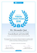 Doc Finder Patients Choice Award 2016